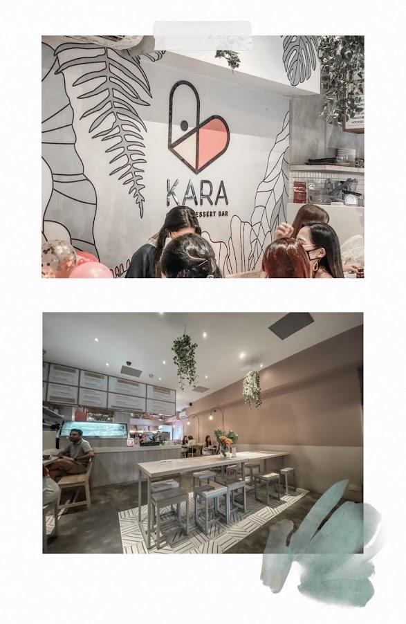 kara cafe dessert and bar bukit timah