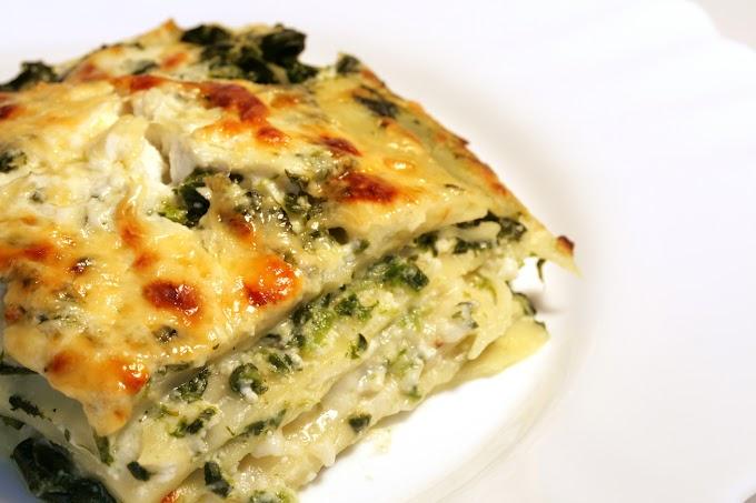 Fantasztikusan krémes spenótos-ricottás lasagne: hús nélkül is jó laktató
