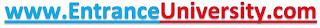 Entrance University portal new domain name