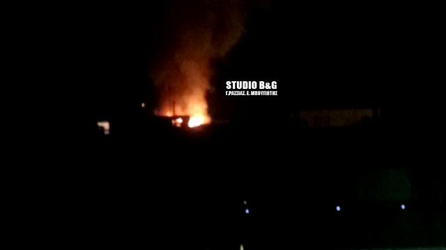Πυρκαγιά σε οικία στο Άργος (βίντεο)