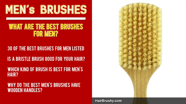 Men's Bristle HairBrushes