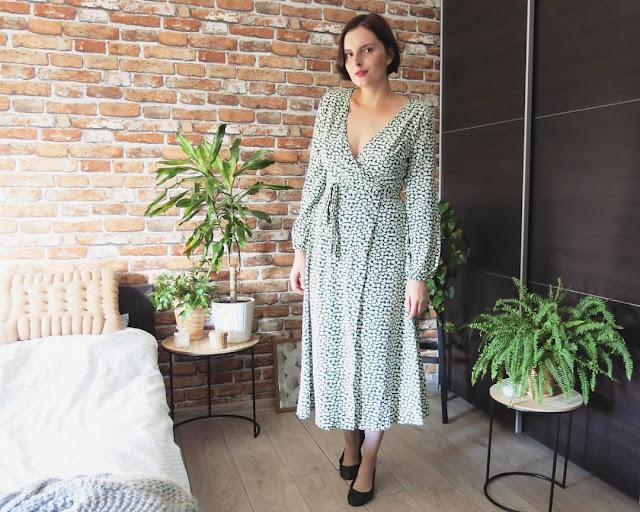 SUKIENKA | FLORAL PRINT DRESS | DRESSLILY ♥