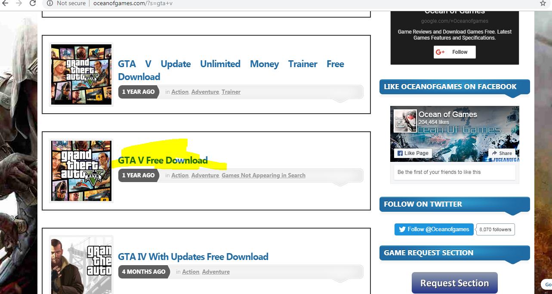gta v website download