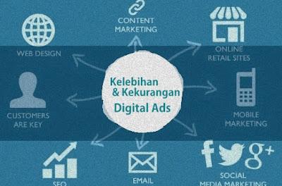 Kelebihan dan Kekurangan Beriklan Melalui Internet   Digital Advertising