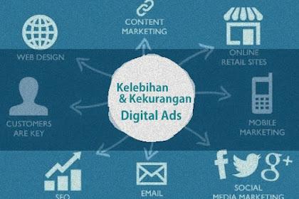 Kelebihan dan Kekurangan Beriklan Melalui Internet | Digital Advertising