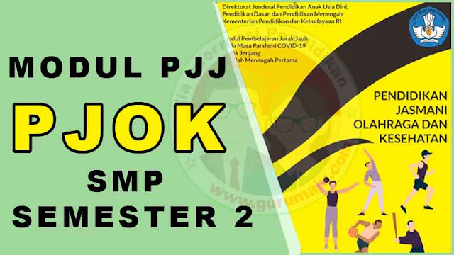 Download Modul PJJ PJOK Kelas 7 Semester 2