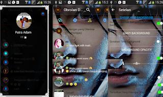 BBM Mod Droid Chat