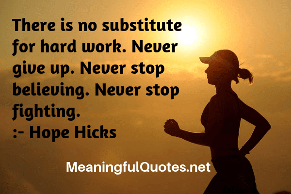 never give up motivation quotes