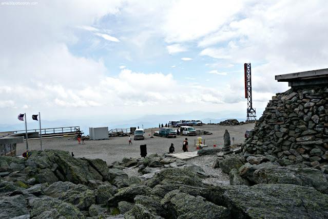 Furgonetas de los Tour Guiados de Mount Washington