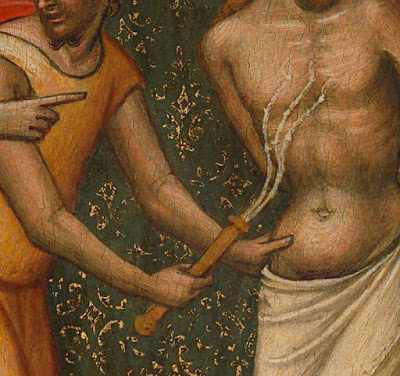 flagelacion de cristo azote latigo medieval pintura gotica rijksmuseum