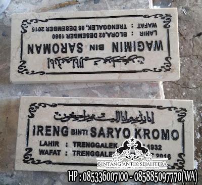 Harga Nisan Makam Marmer, Marmer Untuk Nisan, Nisan Kuburan Muslim