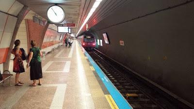Línea M2 (Taksim-4.Levent), metro estambul