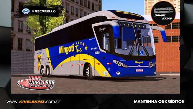 MASCARELLO ROMA R8 - VIAÇÃO MINGOTI TUR