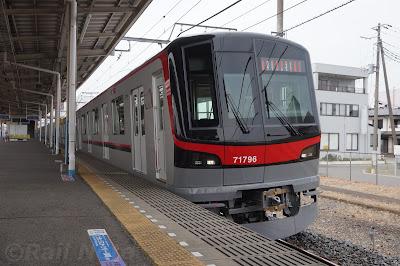 回送列車の東武70090系