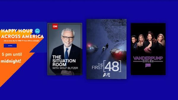 Sling Happy Hour Across America Watch Free TV