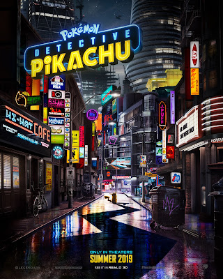 Pokemon Detective Pikachu Live Action Movie Poster
