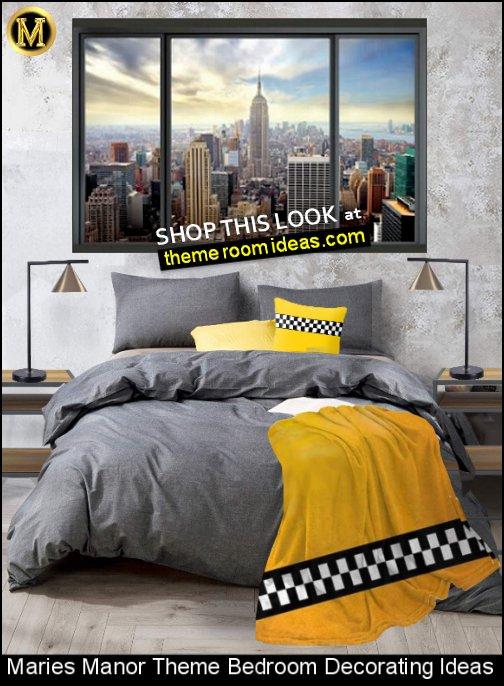urban NY bedroom decorating urban new york city bedroom ideas