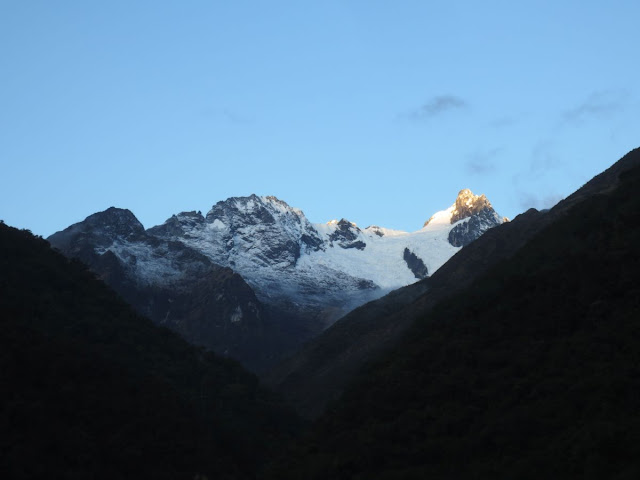 Disappearing Peruvian glaciers