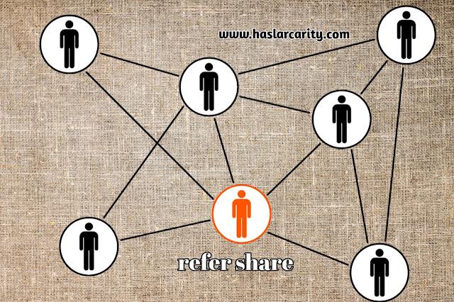 Refer image, share refer ,