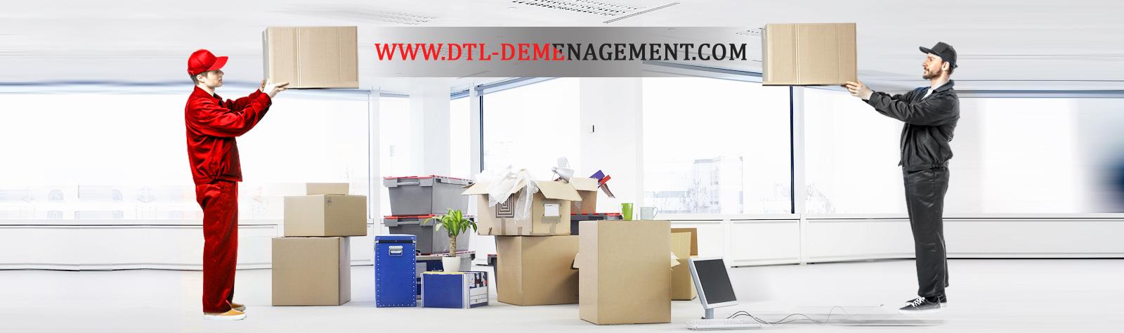 Déménagement d'entreprise