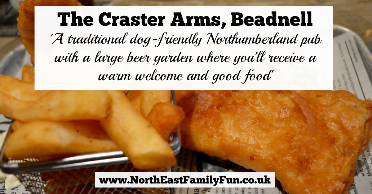 The Craster Arms, Beadnell   A Review featuring a very good Northumberland Country Pub.