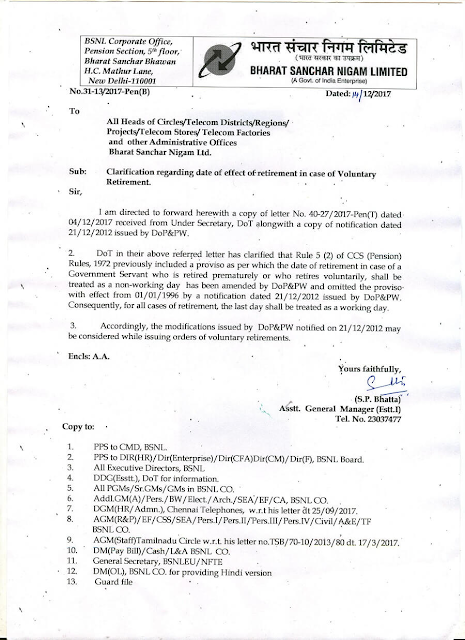 retirement-in-case-of-voluntary-retirement-bsnl-paramnews