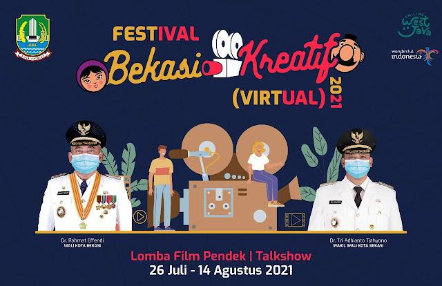 Festival Bekasi Kreatif 2021, Ajang Kreasi di Tengah Pandemi