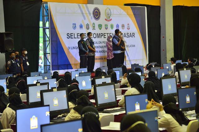 Pantau Pelaksanaan SKD CPNS Sinjai di Makassar, Andi Seto Titip Pesan ini