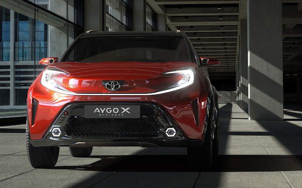 Toyota Aygo X Prolongue antecipa nova geração do compacto