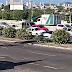 |FOTOS| Carro derrubou poste na BR-101 altura do posto Planalto
