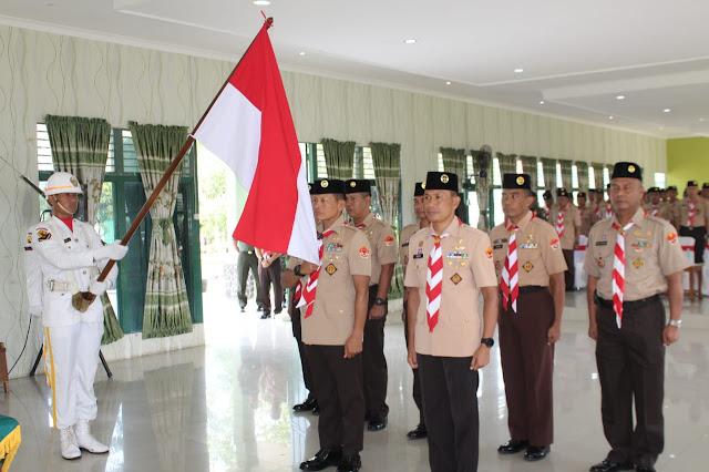 Pangdam XII/Tpr Dikukuhkan Menjadi Ketua Majelis Pembimbing Saka Wira Kartika