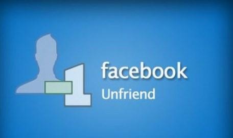 unfriended on facebook