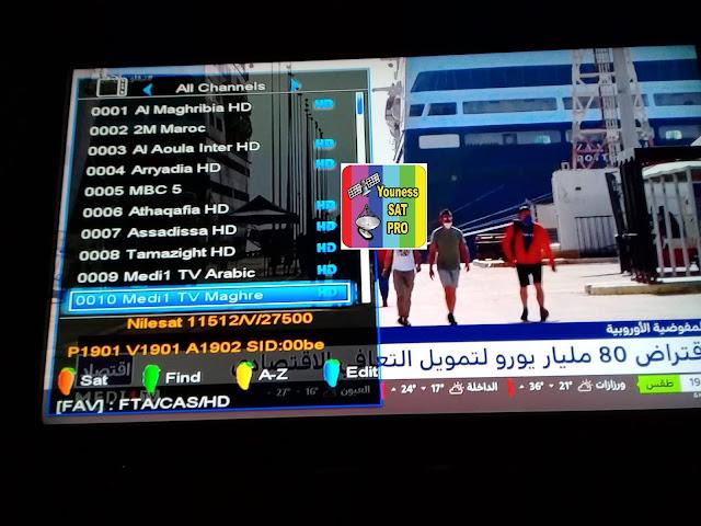 تردد قناة ميدي 1 تيفي المغربmedi1 tv maghreb 2021