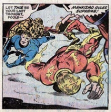 Fantastic Four 153 Buckler-Sinnott