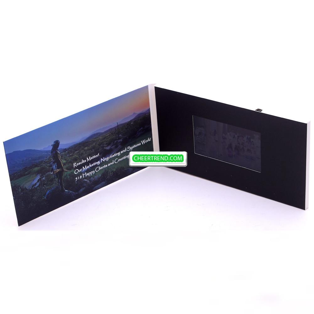 Video Brochure Card Video Greeting Card 5 Inch Video Brochure Card