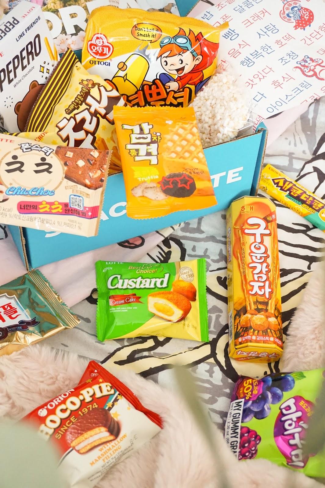 SnackCrate South Korea Box Of Snacks - Em's Editorial