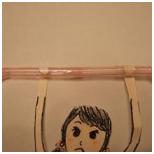 「曲がるストローで作る、指先を鍛えるおもちゃです」 コドモンテ モンテッソーリ 食育 子育て