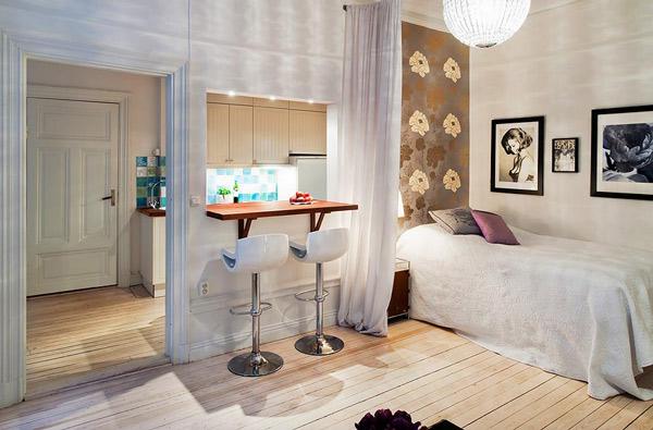 Hogares frescos ideas de dise os para apartamentos peque os for Ideas para departamentos