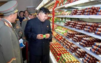 Nordkorea uppgraderar uppskjutningsomrade