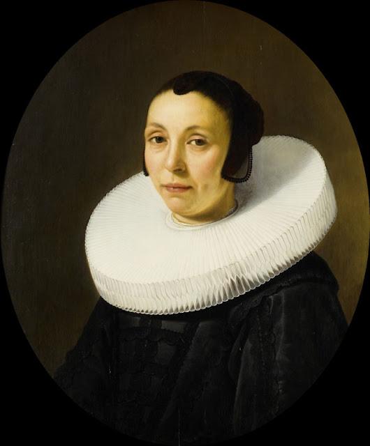 Альберт Кёйп - Портрет Анны Блокен. 1649