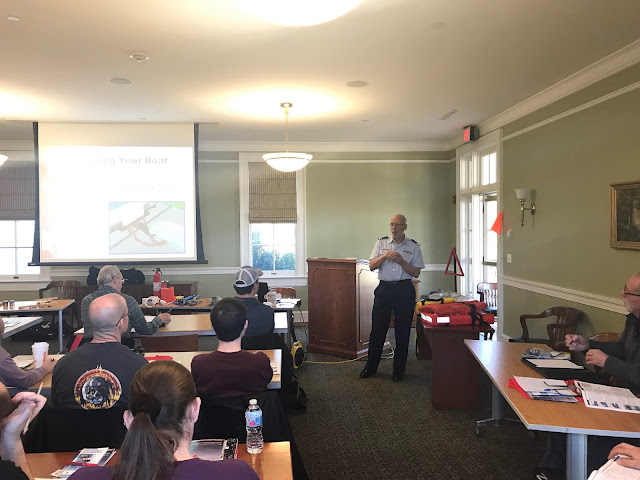 AUX Glenn Delmonico explains the safety precautions that you should take while trailering your vessel.