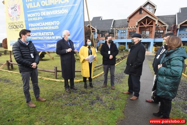 Osorno: Villa Olímpica habilitada como la 4ta residencia sanitaria