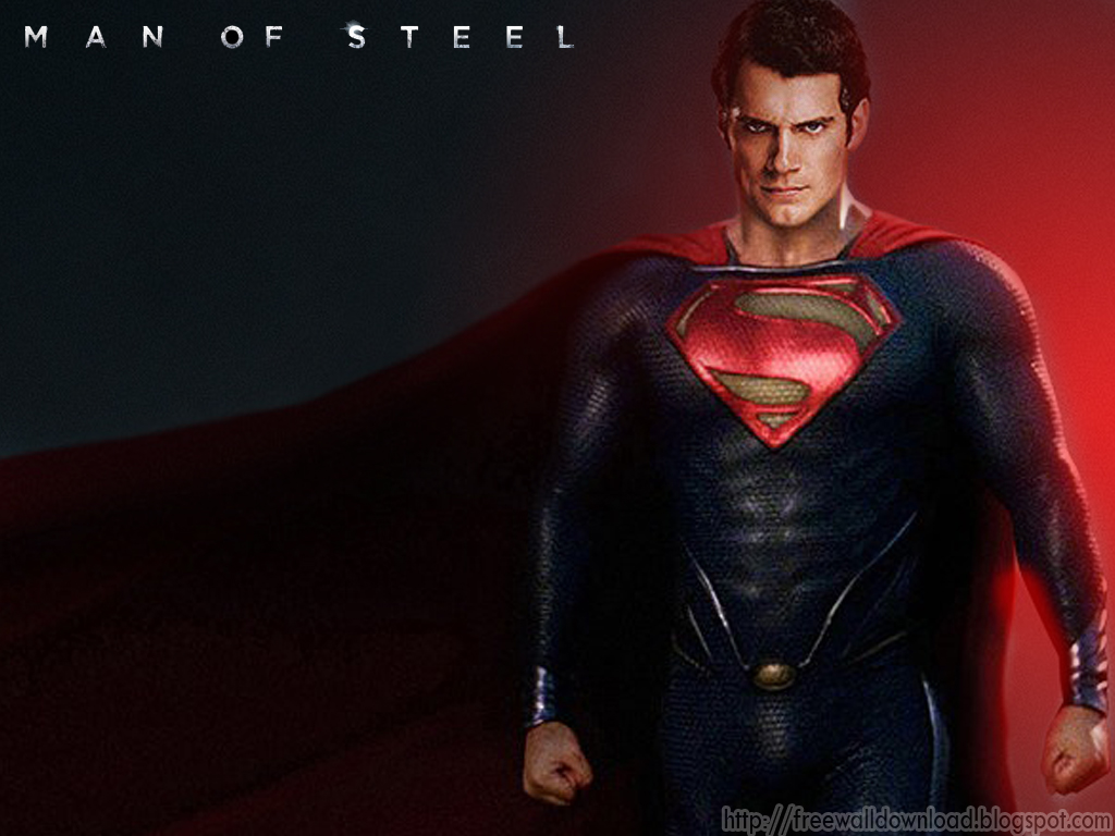 Free Wallpaper Download: Superman - Man of Steel Wallpapers