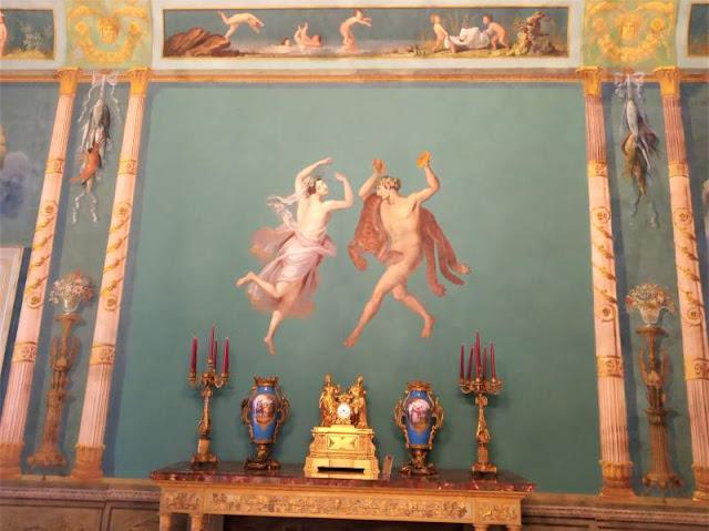 Sala pompeiana Palazzo dei Normanni