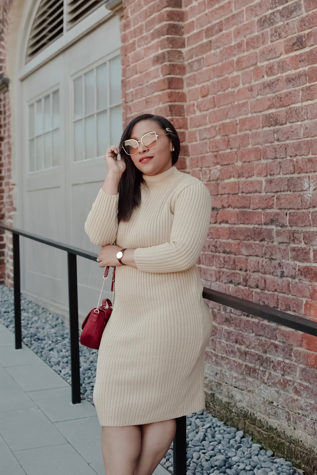 dc bloggers, visit richmond, femme luxe, spring outfit ideas, sweater dress