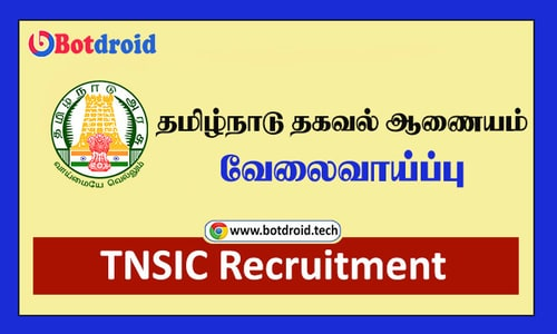 TNSIC Recruitment 2021, Apply for Tamil Nadu Information Commission Job Vacancy