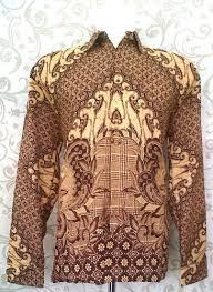 Pakaian Batik Keris Pria Lengan Panjang Modern