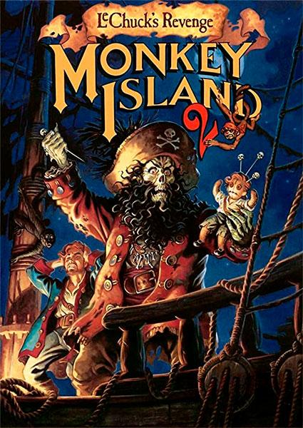 Poster Monkey Island 2: LeChuck's Revenge
