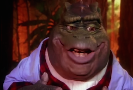 Earl Sinclair performt Hypnotize von Notorious B.I.G | Die Dinos LipSync MashUp Video