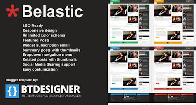 Belastic - Responsive Blogger Template